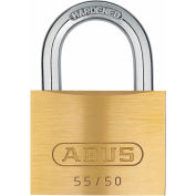 "ABUS Solid Brass Padlock 55/50 B KD Keyed Different 2"" - Pkg Qty 6"