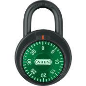 ABUS Combination Dial Padlock 78/50 Green - Pkg Qty 6