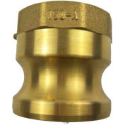 "3/4"" Brass Type A Adapter with Threaded NPT Female End"