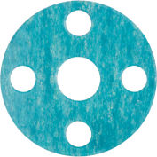 """Raised Face Aramid/Buna-N Flange Gasket for 1-1/2"""" Pipe - 1/8"""" Thick - Class 300"""