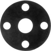 """Full Face EPDM Flange Gasket for 2 -1/2"""" Pipe-1/16"""" Thick - Class 150"""