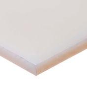 "Polypropylene Plastic Sheet - 1-1/2"" Thick x 16"" Wide x 48"" Long"