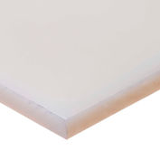 "Polypropylene Plastic Bar - 1-1/2"" Thick x 4"" Wide x 48"" Long"