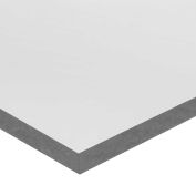 "PVC Plastic Sheet - 3/4"" Thick x 6"" Wide x 6"" Long"