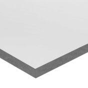 """PVC Plastic Sheet - 1/2"""" Thick x 36"""" Long x 48"""" Long"""