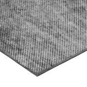 "Fabric-Reinforced High Strength Buna-N Rubber Sheet No Adhesive - 60A - 1/16"" Thick x 36"" W x 36"" L"