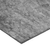 "Fabric-Reinforced High Strength Buna-N Rubber Sheet No Adhesive - 60A - 1/4"" Thick x 36"" W x 24"" L"