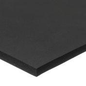 "Fire Retardant Neoprene Foam Sheet with Acrylic Adhesive - 1/2"" Thick x 12"" Wide x 12"" Long"