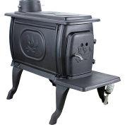 US Stove Logwood Wood Burning Stove 1269E - 54000 BTU Black
