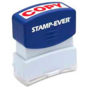 "U.S. Stamp & Sign Stamp-Ever® Pre-Inked Stamp, COPY, 9/16"" x 1-11/16"", Red"