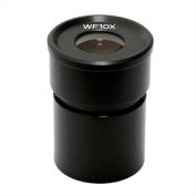 AmScope EP10x305R WF10X Microscope Eyepiece with Reticle (30.5mm), 1 Each