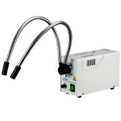 AmScope HL250-AY 150W Dual Gooseneck Fiber Optic Illuminator