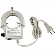AmScope LED-56S-ZK 56-LED Reinforced Microscope Ring Light with Dimmer