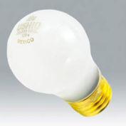 Ushio 1003216 25a19/Cl/20, 20,000 Hours, A19, 25 Watts, 20000 Hours Bulb - Pkg Qty 120