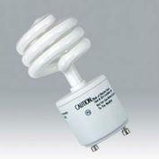 Ushio 3000546 Cf18clt/2700/Gu24, Coilight, Coil, 18 Watts, 10000 Hours- Cfl Bulb - Pkg Qty 10