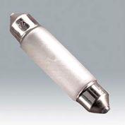 Ushio 5000850 Fst 12v-10w/C/Xx, Xe Festoon, T10, 10 Watts, 20000 Hours Bulb - Pkg Qty 100