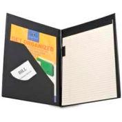 "Sparco™ Economy Pad Holder, Letter-Size, 9-1/2"" x 12-5/8"", Vinyl Cover, Black"