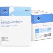 "Sparco™ Premium Multipurpose Copy Paper, 8-1/2"" x 11"", 20 lb, White, 2500 Sheets/Carton"
