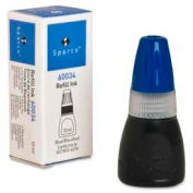 Sparco™ Stamp Refill Ink, 0.34 fl. oz. Bottle, Blue