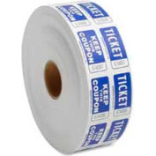 Sparco™ Double Ticket Roll, Blue, 2000/Roll