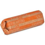 Sparco Flat Coin Wrapper, SPRTCW25, $10 Quarters  Capacity, 1000/Pk