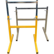 "LINKIT SHA042 12"" Adjustable Stand for 300 Series Portable Dirt & Aggregate Conveyors"