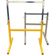 """LINKIT SHA056 18"""" Adjustable Stand for 450 Series Portable Dirt & Aggregate Conveyors"""
