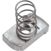 "Unistrut 1-5/8"" Channel Nut P1010egs, Electro-Galvanized, 1/2-13 - Pkg Qty 100"