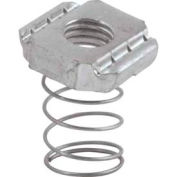 """Unistrut 1-5/8"""" Channel Nut P1012segs, Electro-Galvanized, 5/8-11 - Pkg Qty 100"""