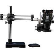 Luxo System 373 ESD-Safe Trinocular Microscope, Dual Boom Stand, LED-HO Ring Light, USB Camera