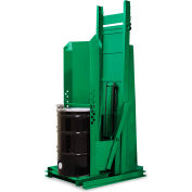 """Valley Craft® F80153A3 Dual-Stage Stationary Drum Dumper 96"""" Dump 1500 Lb."""