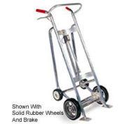 Valley Craft® F82175A2 EZY-Rol™ 4-Wheel Aluminum Drum Truck Pneumatic Wheels