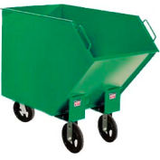 Valley Craft® Tapered Tilt Truck, Swivel Wheel on Flat End F85057A8