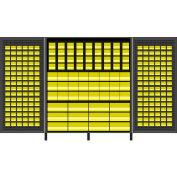 Vari-Tuff Extra Wide Storage Cabinet - 72x24x84 264 Bins