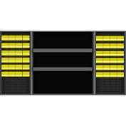 Vari-Tuff Half-Cab w/48 Bins & Shelves