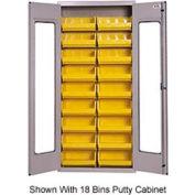 Vari-Tuff High-Vis 36-Bin Cabinet - Gray