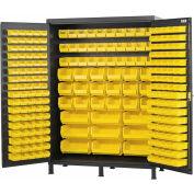 Vari-Tuff Extra Wide Storage Cabinet - 60x24x84 227 Bins