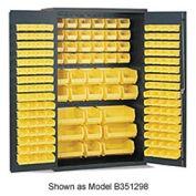 Vari-Tuff Deep Door Cabinet w/ Bins - 48x24x84
