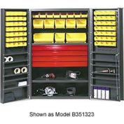 Vari-Tuff Utility Drawer Cabinet - 36x24x72 With 52 Bins