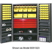 Vari-Tuff Utility Drawer Cabinet - 36x24x72 With 58 Bins
