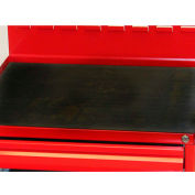 """Valley Craft, Non-Skid Rubber Worksurface Mat 24"""" Top for Modular Mobile Cabinet"""