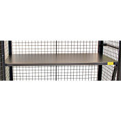 48 x 24 Metal Shelf F89718A3 for Valley Craft® Security Truck, Red
