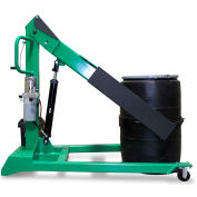 """Valley Craft® F89758 12V Rechargeable Battery Power Forward Drum Dumper 96"""" Max Lift 800 Lb."""