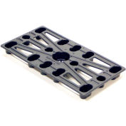 Valley Craft® Plastic Mini-Pallet 12 x 24 x 2 Z84976A3