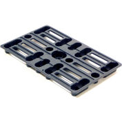 Valley Craft® Plastic Mini-Pallet 15 x 24 x 2 Z84978A1