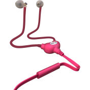 vestHeadset - Anti-Radiation Air Tube Headset with 3.5 mm Jack Plug - Pink