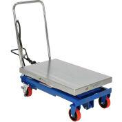 Vestil Pneumatic-Hydraulic Mobile Scissor Lift Table AIR-1000 1000 Lb. Capacity