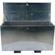 """Aluminum Treadplate Tool Box APTS-2448-F - w/Fork Pockets, 48""""x24""""x24"""""""