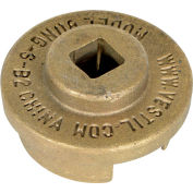 """Vestil Drum Bung Socket BUNG-S-B2 Non-Sparking Bronze Alloy - 1/2"""" Drive Size"""