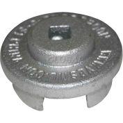 """Vestil Drum Bung Socket BUNG-S-S1 - Zinc-Plated Cast Steel - 3/8"""" Drive Size"""